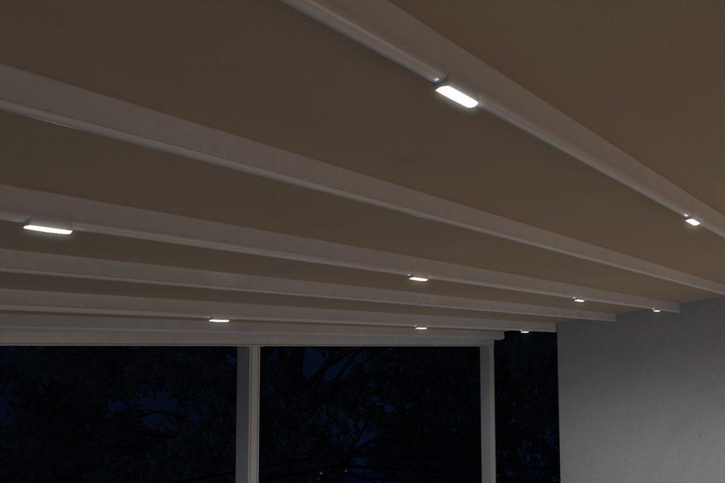 Σύστημα φωτισμού με φλατ φωτιστικά