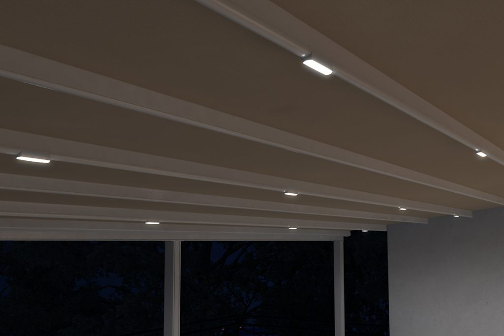 LED flat lighting system