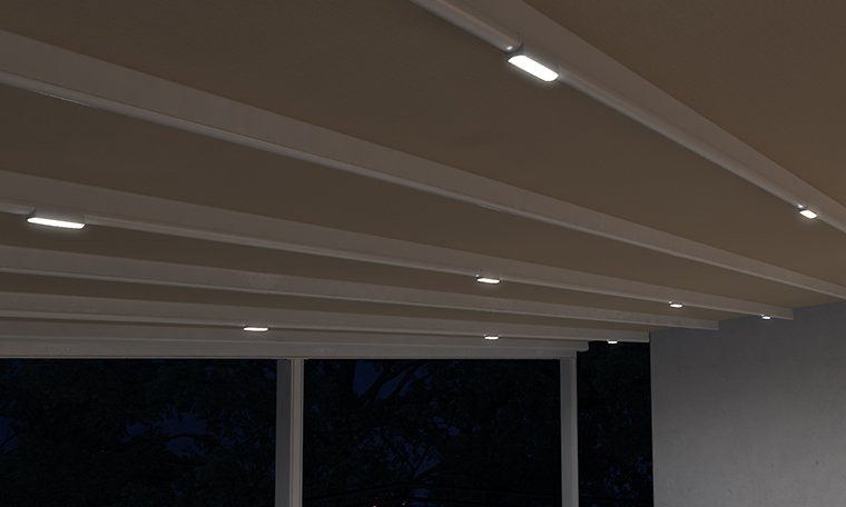 Φωτισμός Πέργκολας