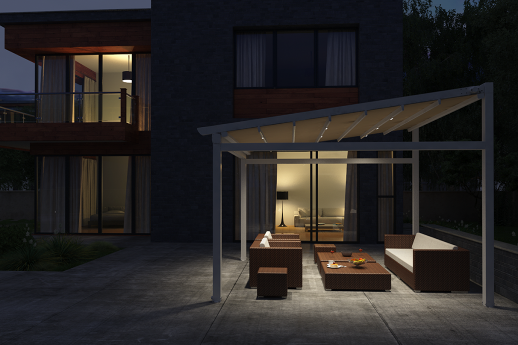Flat Light in Pergola Star